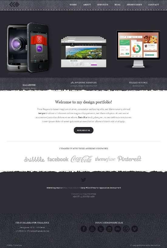 pixelwhiz themefuse avjthemescom 01 - PixelWhiz WordPress Theme