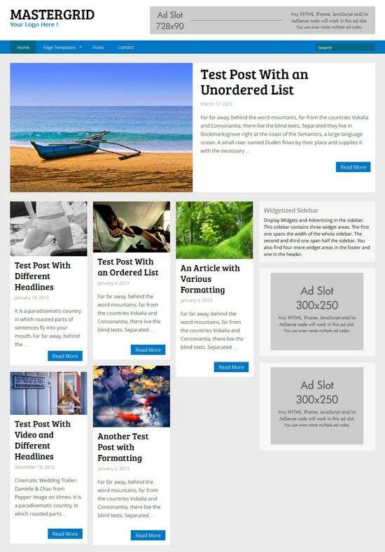 mastergrid richwp avjthemescom 01 - Mastergrid WordPress Theme