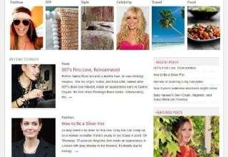 pretty cloverthemes avjthemescom 01 - Pretty Clover WordPress Theme