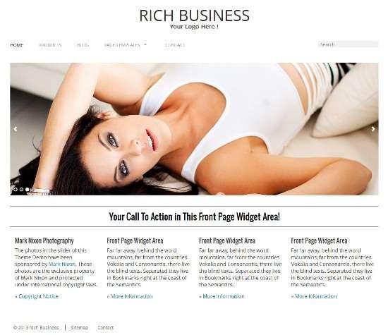 rich business richwp avjthemescom 01 - Rich Business WordPress Theme