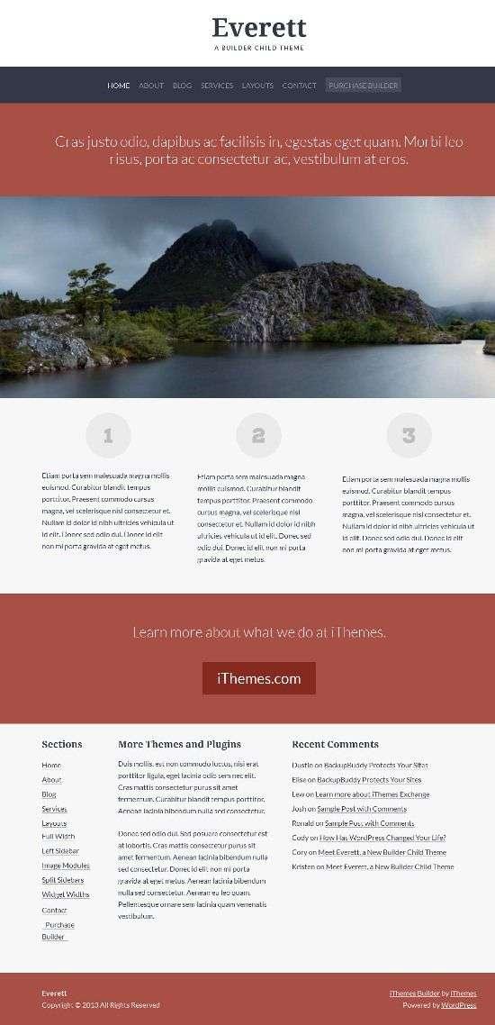 everett ithemes builder avjthemescom 01 - Everett WordPress Theme