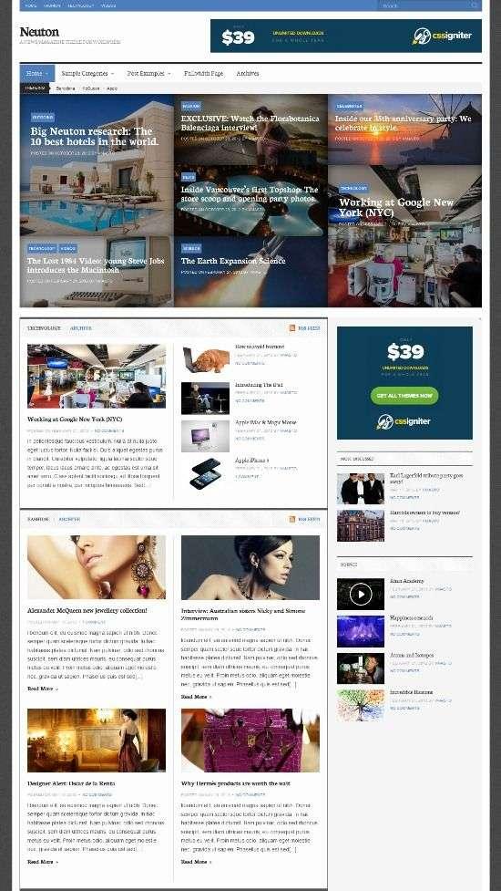 neuton cssigniter avjthemescom 01 - Neuton WordPress Theme