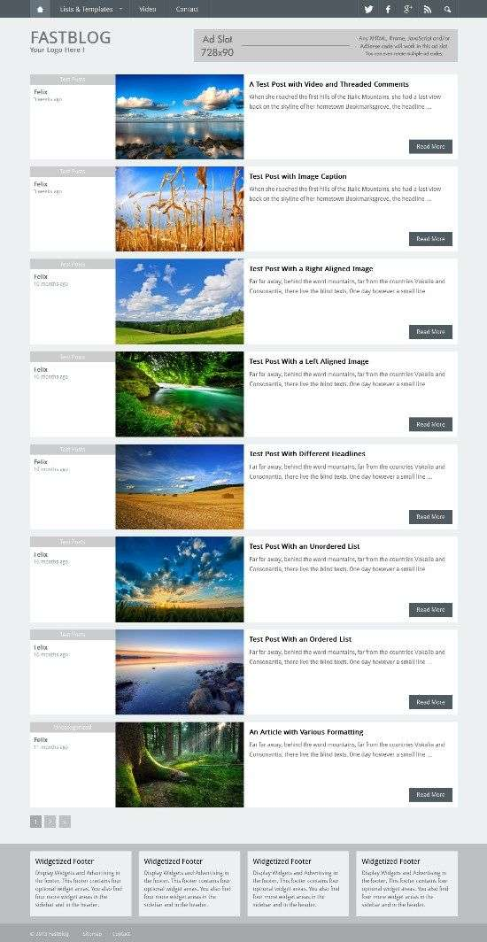 fastblog richwp avjthemescom 01 - Fastblog WordPress Theme