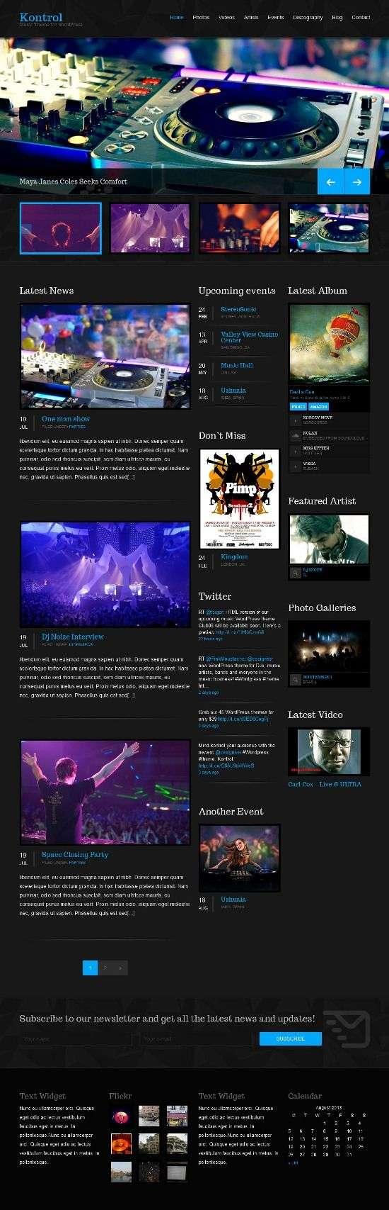 kontrol cssigniter avjthemescom 01 - Kontrol WordPress Theme