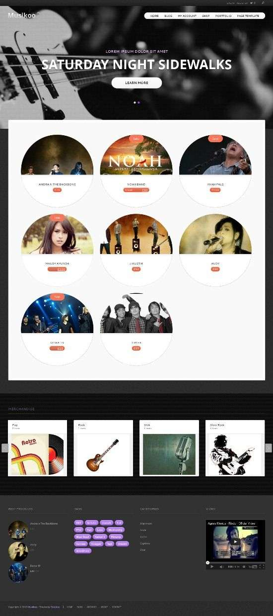 musikoo tokokoo avjthemescom 01 - Musikoo WordPress Theme