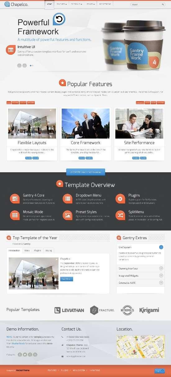 chapelco rockettheme wp avjthemescom 01 - Chapelco WordPress Theme