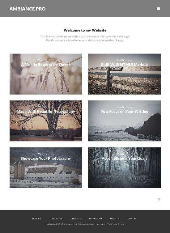 ambiance pro studiopress avjthemescom 01 - Ambiance Pro WordPress Theme