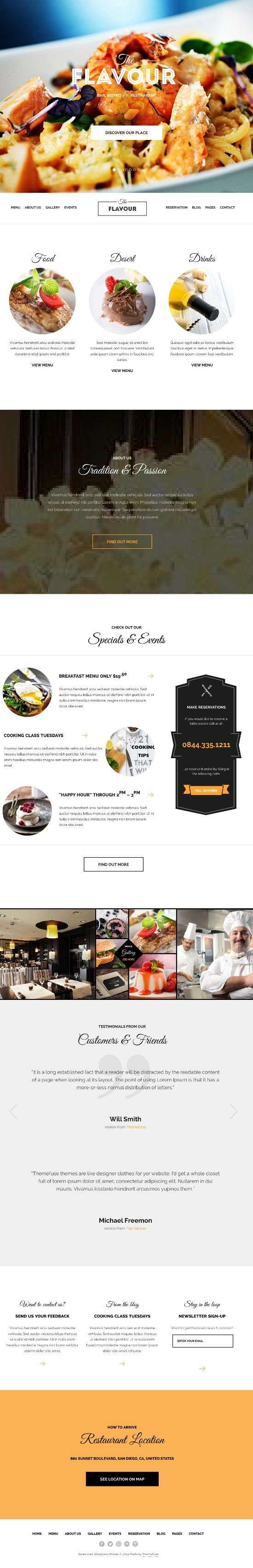 the flavour themefuse avjthemescom 01 - The Flavour WordPress Theme