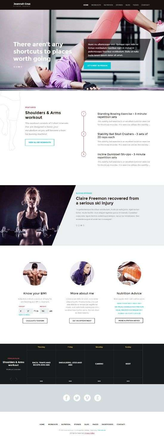 inshape themefuse avjthemescom 1 - InShape WordPress Theme
