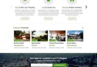 fox estate colorlabsproject real estate 01 - Fox Estate WordPress Theme
