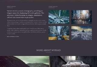 myriad rockettheme joomla 1 - Myriad Joomla Template