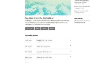 huesos audiotheme musicians - Huesos WordPress Theme