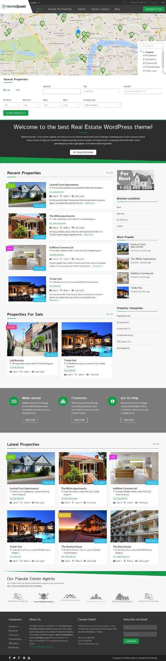homequest template real estate directory theme 01 - homequest-template-real-estate-directory-theme-01