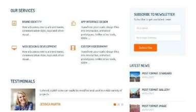 smallbiz templatic wordpress 01 - SmallBiz WordPress Theme