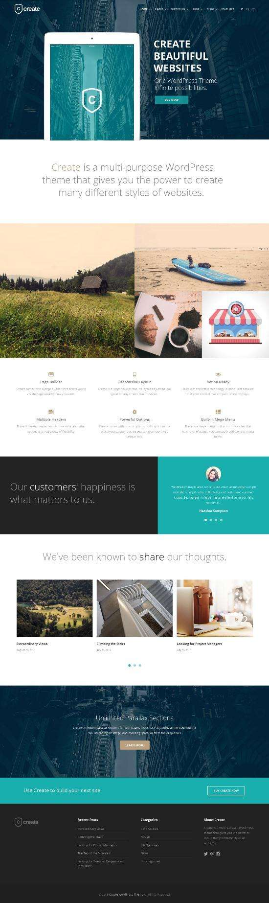 create themetrust theme 01 - ThemeTrust Create WordPress Theme