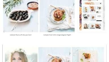 savory restored316designs theme 01 - Savory WordPress Theme