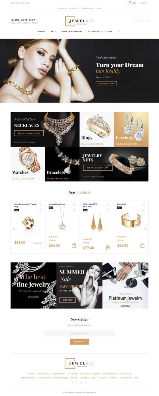 jewelrix magento templatemonster 01 550x1364 - Jewelrix Magento Theme