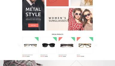 glassonic templatemonster magento theme 01 - Glassonic Magento Theme