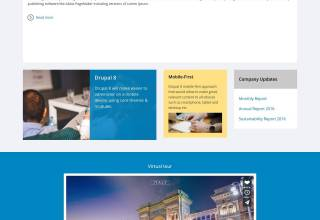 it consulting zymphonies drupal theme 01 - IT Consulting Drupal Theme