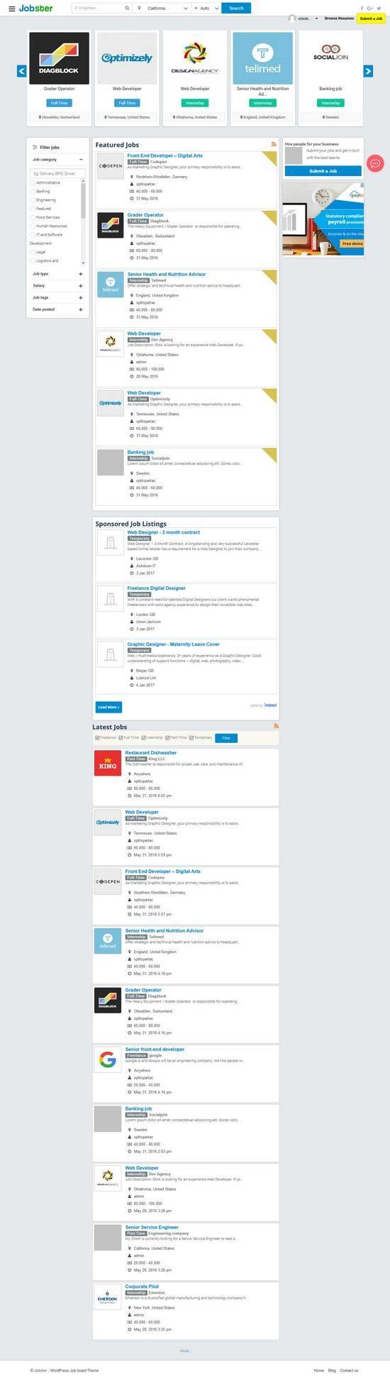 jobster appthemes wordpress 01 550x1946 - Jobster WordPress Theme