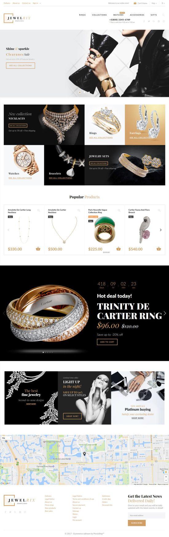 jewelrix prestashop themes template monter themes 01 550x1747 - Jewelrix Prestashop Theme