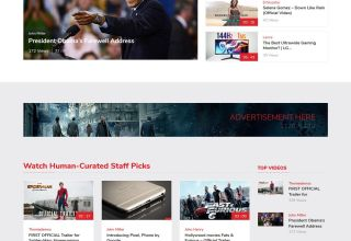 vivo video templatic themes wordpress themes 01 - Vivo WordPress Theme