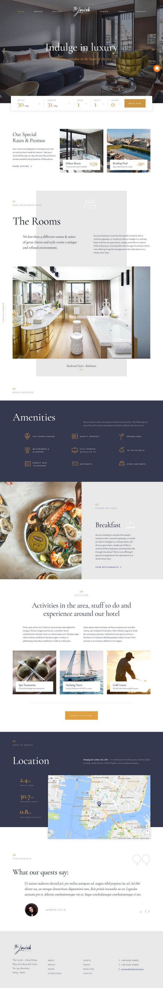 themefuse haven wordpress theme 01 - Haven WordPress Theme