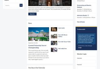 academica pro 3 education WordPress theme 01 - Academica Pro 3.0 WordPress Theme