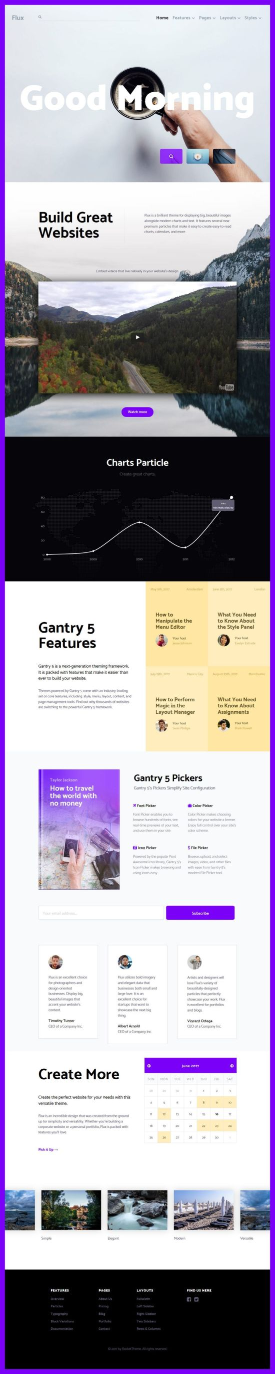 Flux Joomla Template