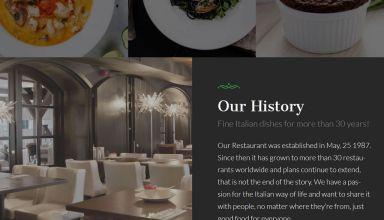 la food wordpress theme restaurants 01 - La Food WordPress Theme