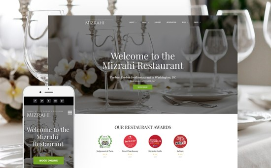 60111 big - Top 20 Food WordPress Themes with Flat Designs 2017