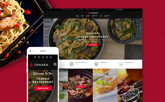 60113 big - Top 20 Food WordPress Themes with Flat Designs 2017