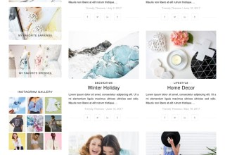 guapa wordpress templatemonster theme 01 - Guapa WordPress Theme