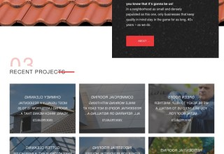 roofonfire wordpress theme template monster 01 - RoofOnFire WordPress Theme
