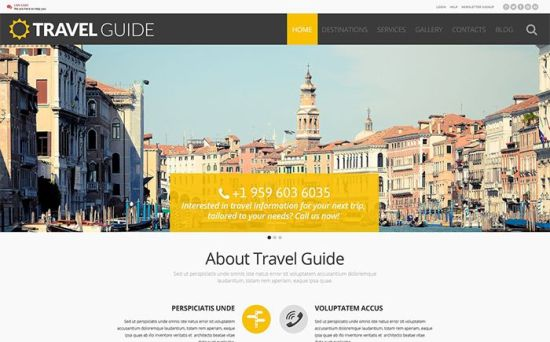 54988 big - Top 10 Best Travel Agency WordPress Themes 2017