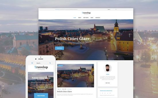 Travelop – Magnificent WordPress Theme for Your Traveling Blog