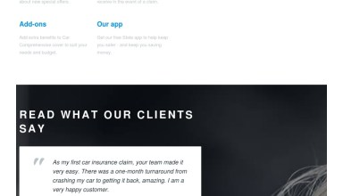 car insurance joomla template monster themes 01 - Car Insurance Joomla Template