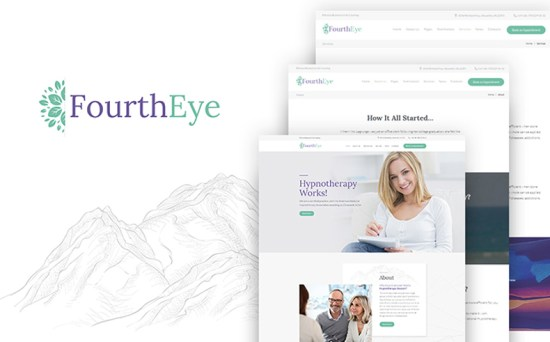 Fourth Eye - Hypnotherapy WordPress Theme