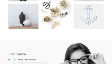carmen wordpress theme 01 - Carmen WordPress Theme
