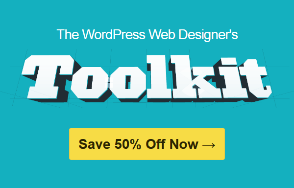 ithemes toolkit - Save 50% Off the iTheme's WordPress Web Designer's Toolkit