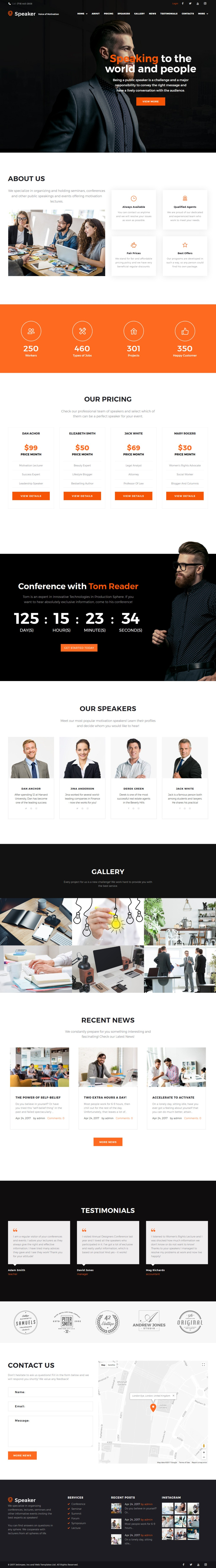 speaker wordpress theme - speaker-wordpress-theme