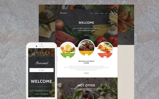 55376 big - 17 Mouthwatering Food & Restaurant WordPress Themes
