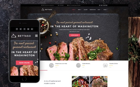 Heart Of Cuisine: Grill Restaurant WordPress Website