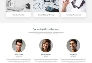 kreativ pro wordpress theme 01 - Kreative Pro WordPress Theme