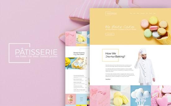 Patisserie Cakery WordPress Theme