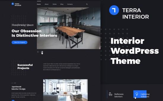 Terra Interior - Interior Design & Architecture WordPress Theme