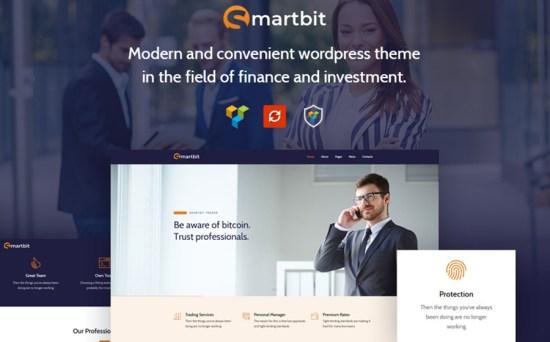 Smartbit Finance & Corporate WordPress Theme