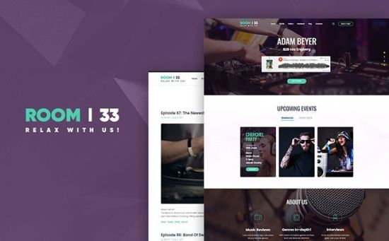 64054 big - 10 Newest WordPress Themes For Entertainment and Leisure Websites