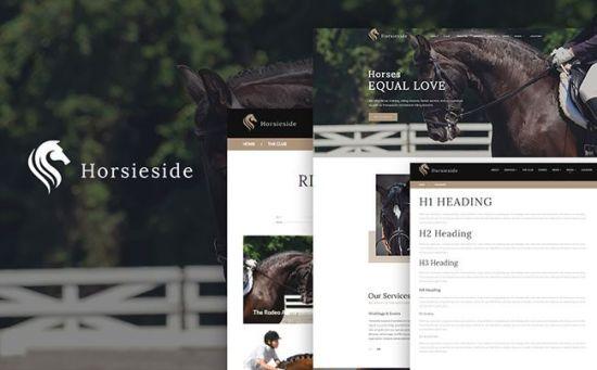 Horsieride - Vibrant Horse Club WordPress Theme