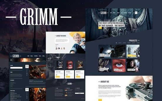 65114 big - 10 Newest WordPress Themes For Entertainment and Leisure Websites